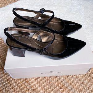 Bandolino Mary Jane Tortoise Shell Heels